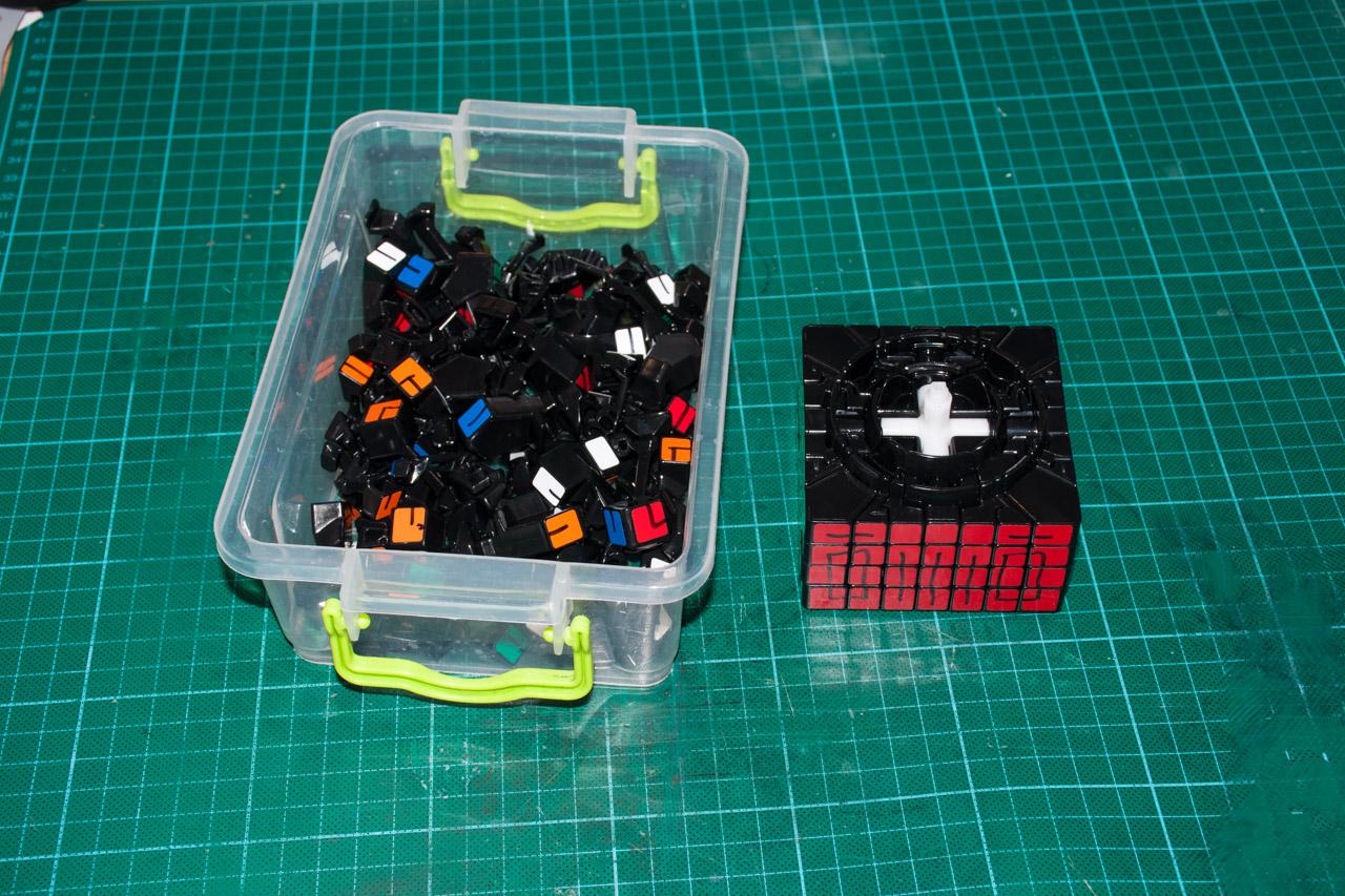 3х5х7 Cuboid или пилим Кубик Рубика - 4