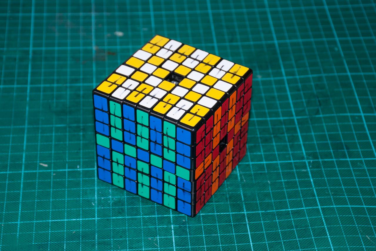 3х5х7 Cuboid или пилим Кубик Рубика - 7