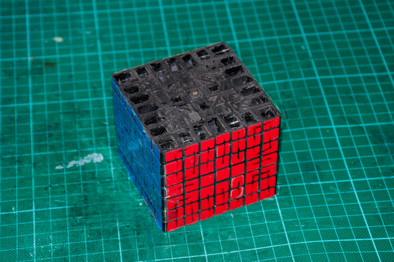3х5х7 Cuboid или пилим Кубик Рубика - 8