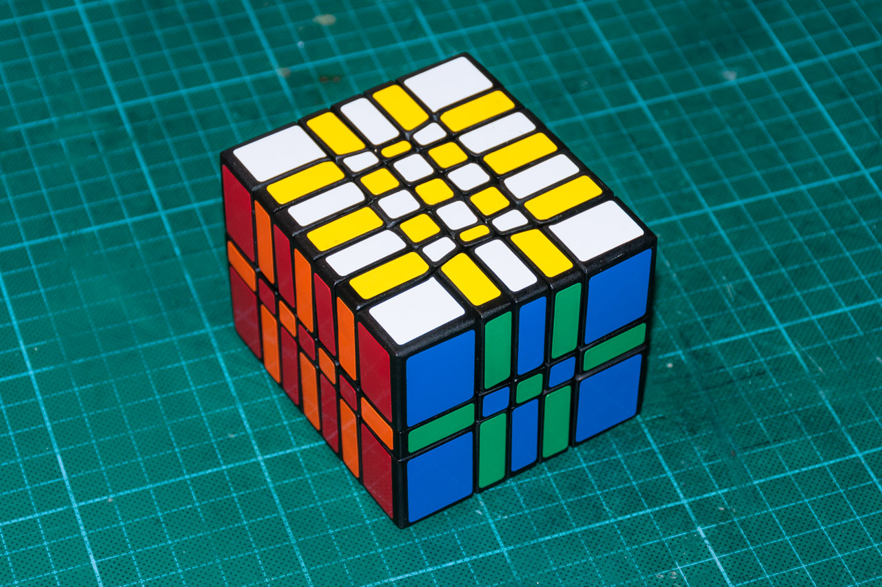 3х5х7 Cuboid или пилим Кубик Рубика - 1