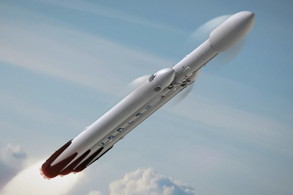 Электромобиль в нагрузке январского испытания Falcon Heavy оказался шуткой - 1