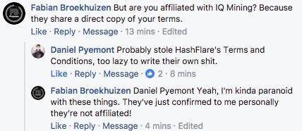 Облачный скам: как мошенники пытаются выдавать себя за HashFlare и продавать несуществующие услуги - 2