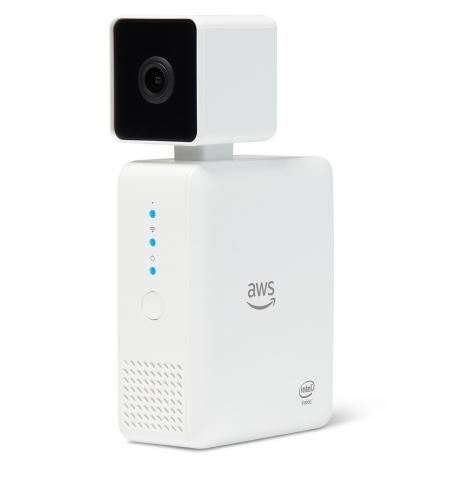 Камера с глубоким обучением Amazon DeepLens использует CPU Intel Atom x5
