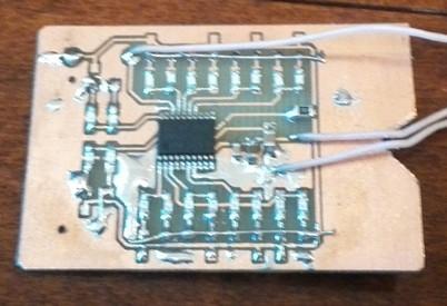 Самодельный светодиодный индикатор в slim факторе - 3