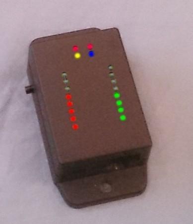 Самодельный светодиодный индикатор в slim факторе - 4