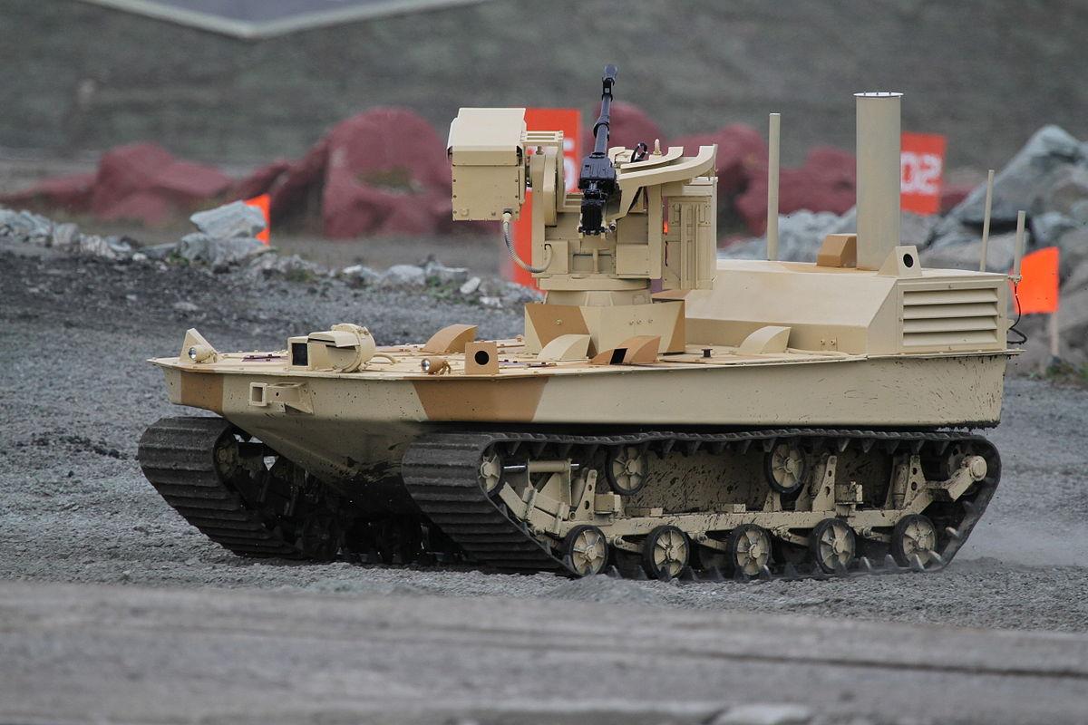 Военные роботы и их разработчики. Часть 1 - 11