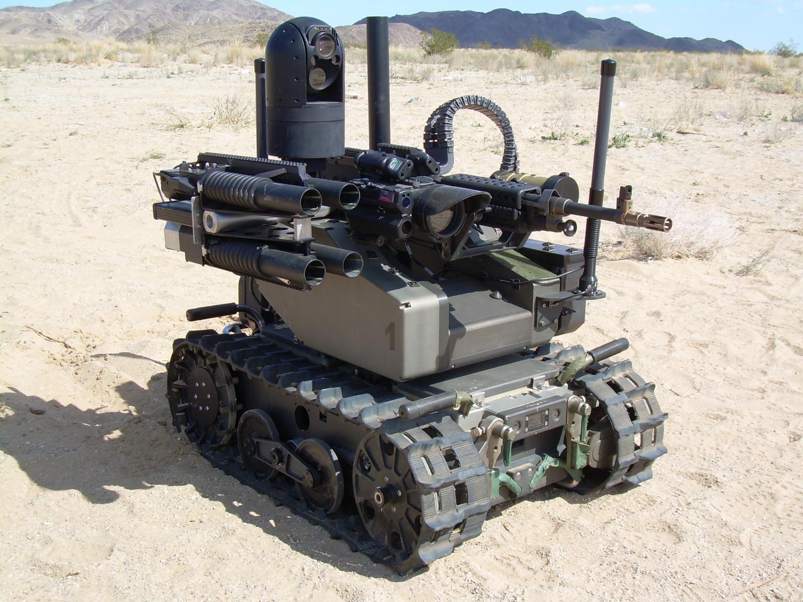 Военные роботы и их разработчики. Часть 1 - 4