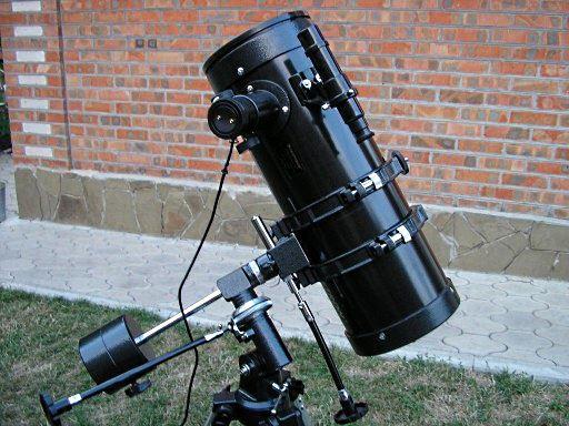 Об изготовлении телескопа в домашних условиях - 1