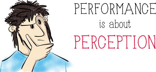 Производительность не связана с математикой