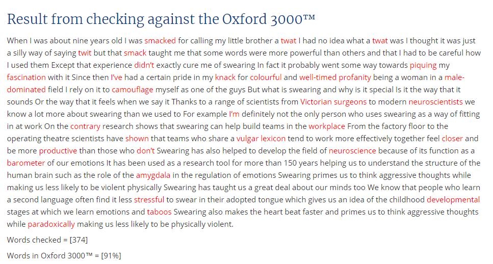 Сколько английских слов надо выучить для свободного общения и чтения статей? (спойлер: 3000) - 3