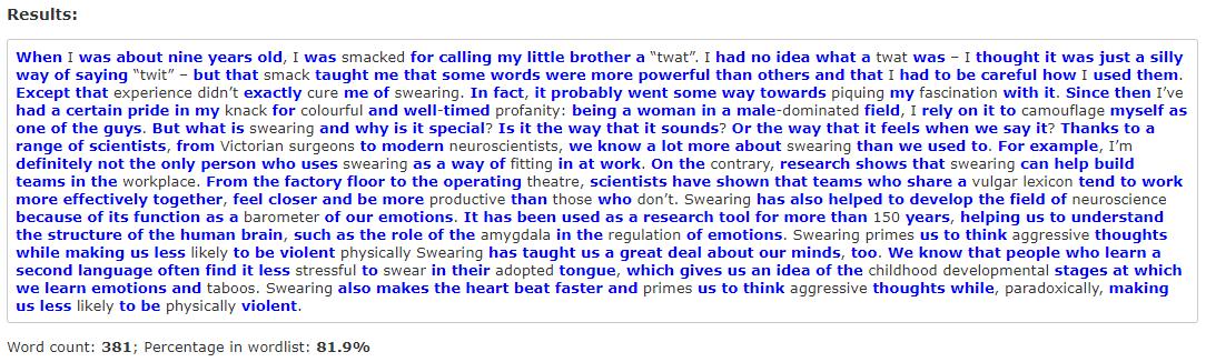Сколько английских слов надо выучить для свободного общения и чтения статей? (спойлер: 3000) - 4