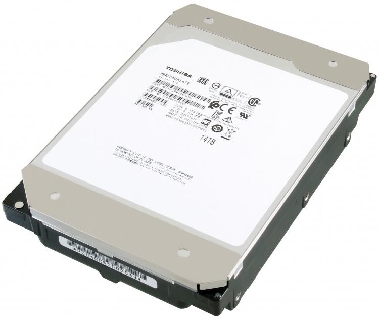 Toshiba представила «гелиевый» жесткий диск емкостью в 14 ТБ - 1