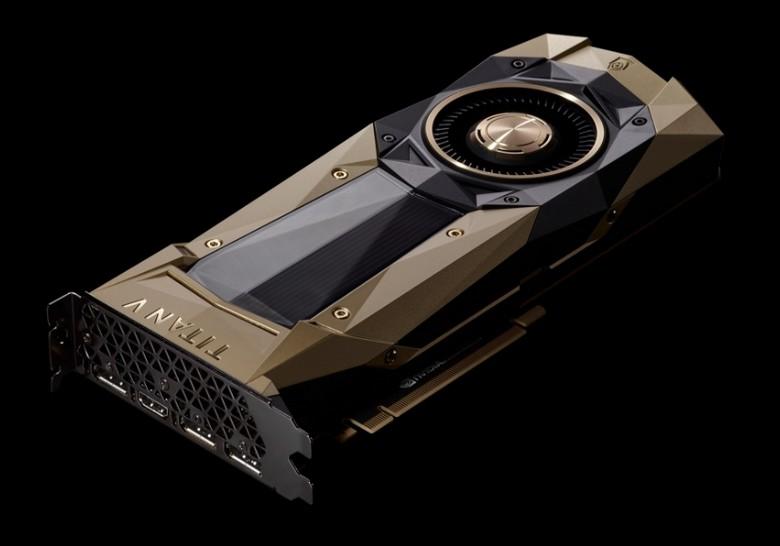 Адаптер Nvidia Titan V оценили в 3000 долларов