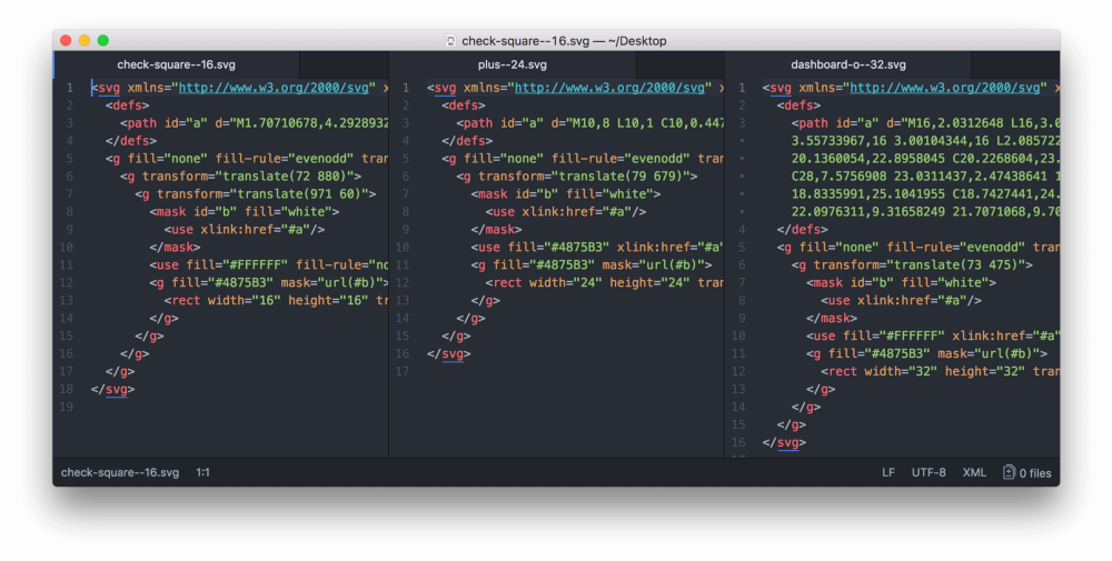 Дизайн–система Acronis. Часть вторая. Иконки, SVG шрифты, Gulp - 10