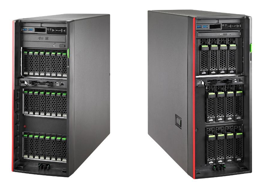 Обзор напольного сервера Fujitsu PRIMERGY TX1330 M3 - 1