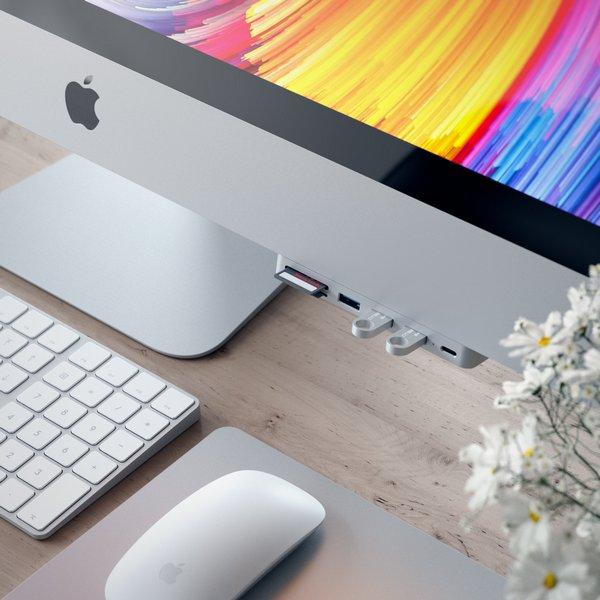 Концентратор Satechi Aluminum Type-C Clamp Hub Pro оценён в 50 долларов