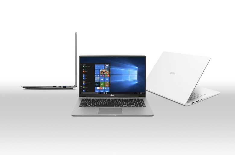 LG похвасталась новыми ноутбуками семейства Gram