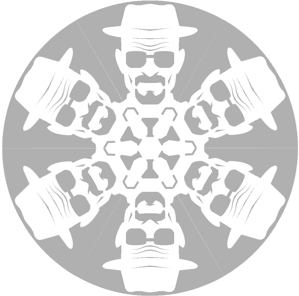 Снежинки в стилистике… своими руками (upd. 2017) - 19