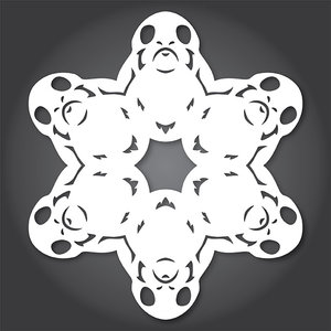 Снежинки в стилистике… своими руками (upd. 2017) - 2