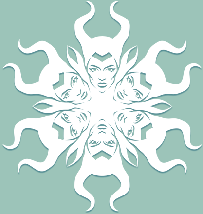 Снежинки в стилистике… своими руками (upd. 2017) - 25