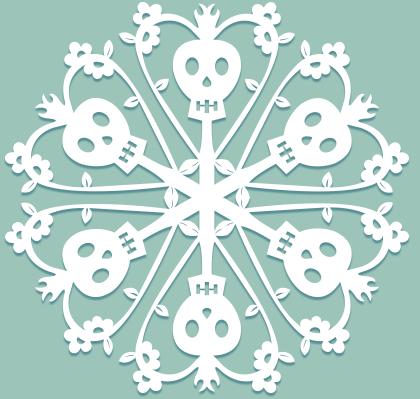 Снежинки в стилистике… своими руками (upd. 2017) - 33