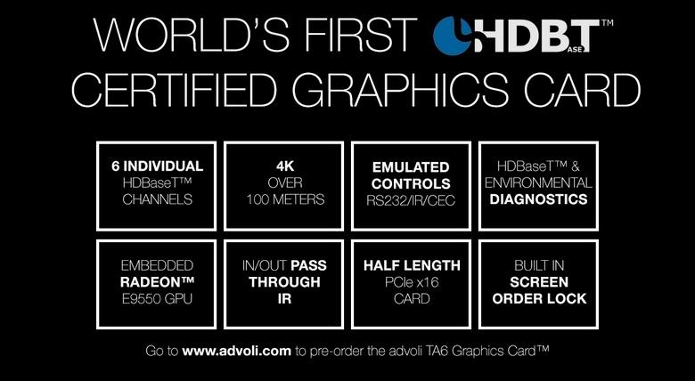 Видеокарта Advoli TA6 Graphics Card основана на GPU Polaris 10