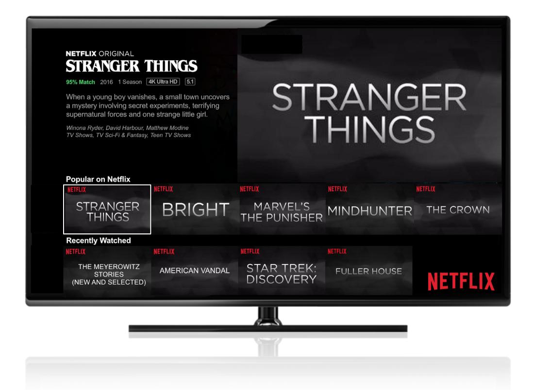 Netflix подбирает оптимальные обложки фильмов для каждого зрителя - 1