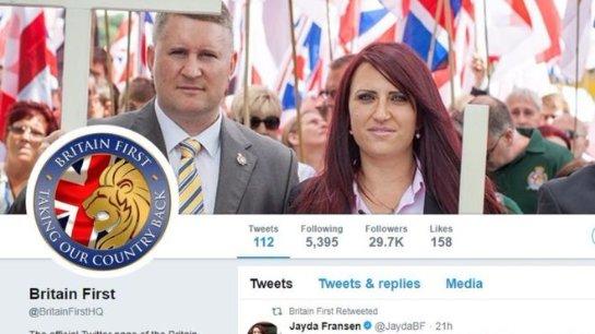 Twitter заблокировал аккаунты двух британских лидеров