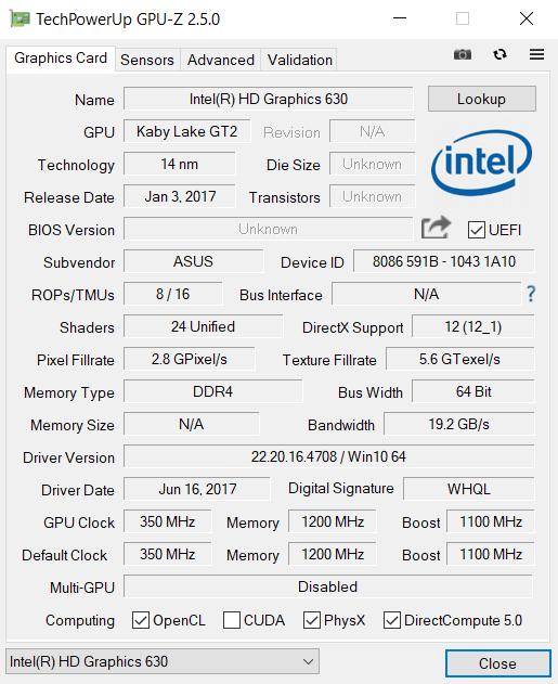 Обзор ноутбука ASUS N580VD - 21