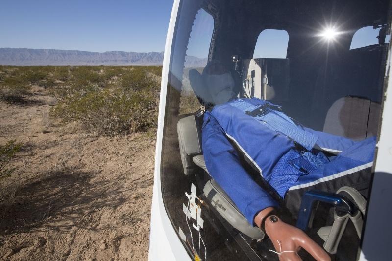 Полет на New Shepard от первого лица - 3