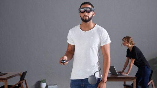 Появились высокотехнологичные очки Magic Leap