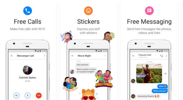 Приложение Facebook Messenger Lite загружено более 100 млн раз