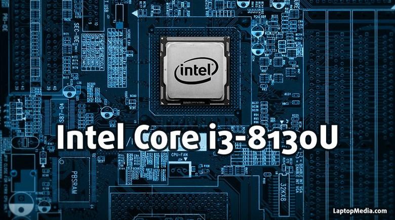 CPU Intel Core i3-8130U будет двухъядерным