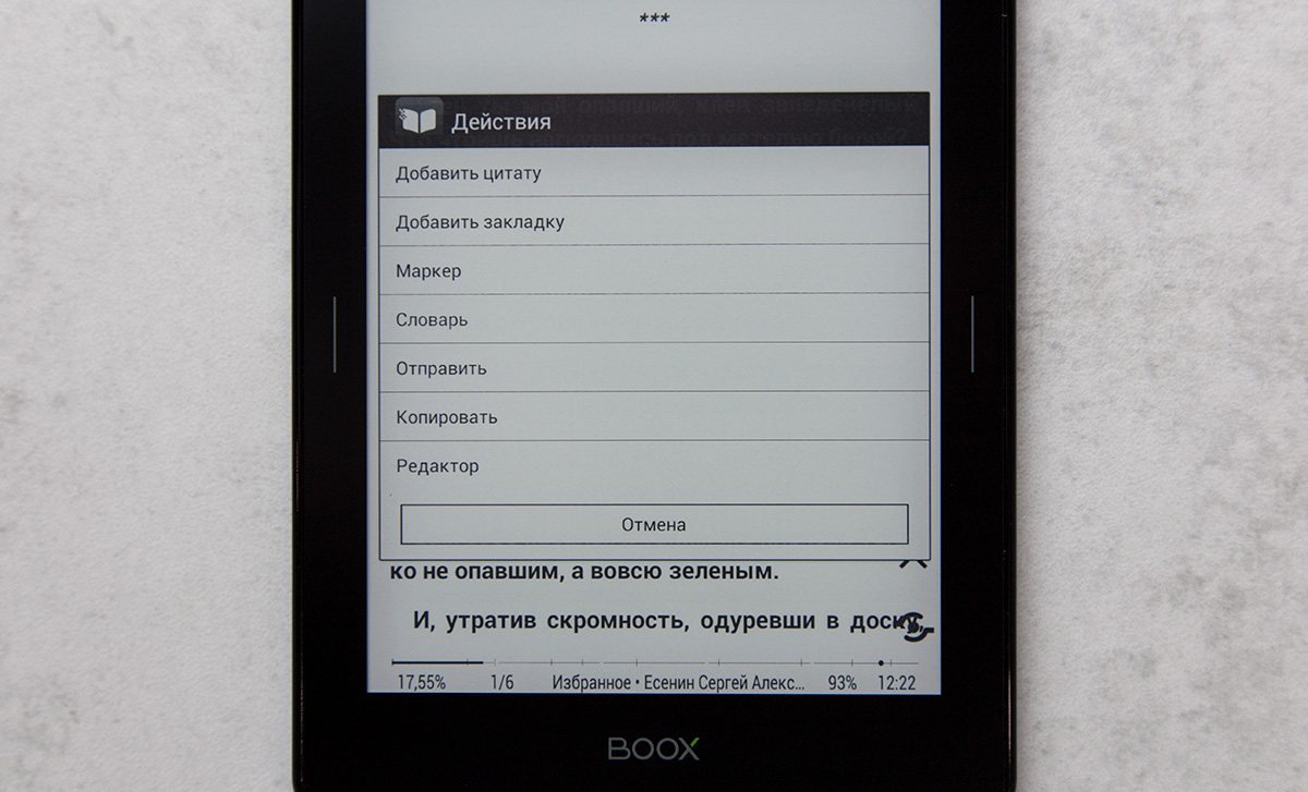 Обзор электронной книги ONYX Boox Robinson Crusoe 2 - 17