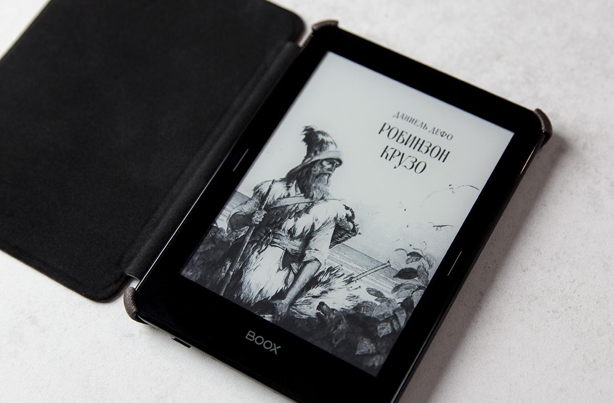 Обзор электронной книги ONYX Boox Robinson Crusoe 2 - 20