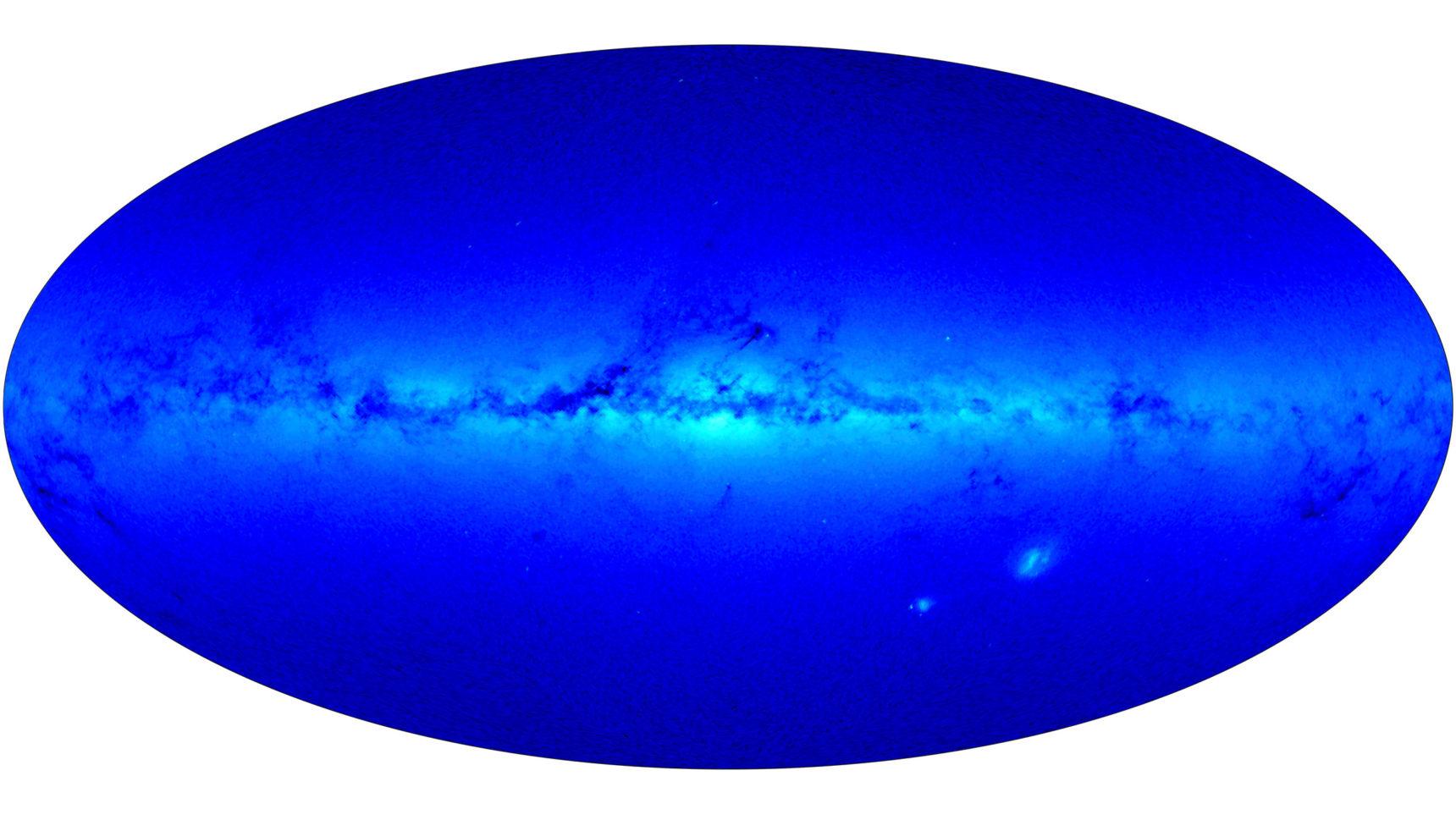 Скрытое сверхскопление может решить загадку Млечного Пути - 3