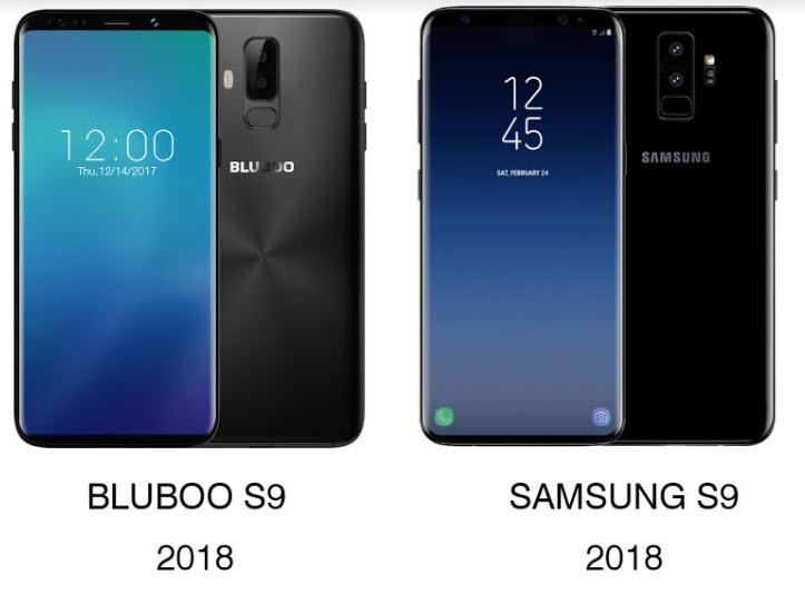 Bluboo S9 готовится скопировать Samsung Galaxy S9 еще до анонса последнего