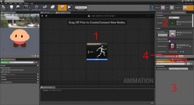 Туториал по Unreal Engine. Часть 6: Анимация - 22