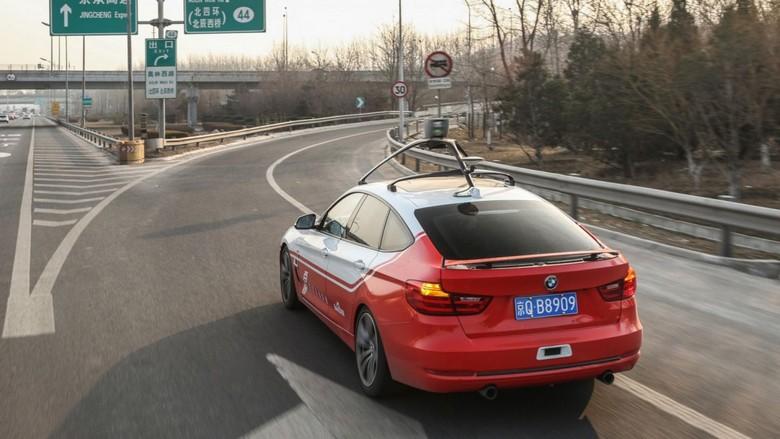 На дорогах Пекина скоро появятся беспилотные машины