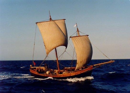 В США на основе древних чертежей создадут яхту