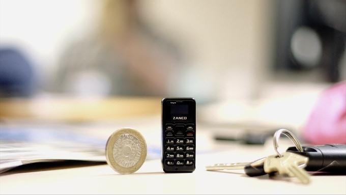 Zanco Tiny T1 — самый маленький телефон в мире, который стоит $40