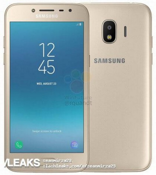 Смартфон Samsung Galaxy J2 (2018) появился на качественных изображениях