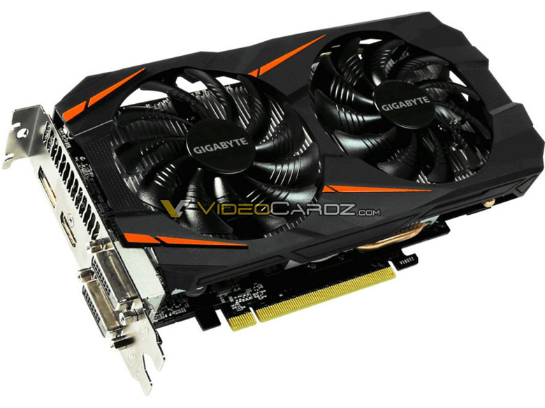 Фото дня: 3D-карта Gigabyte GeForce GTX 1060 5GB Windforce OC