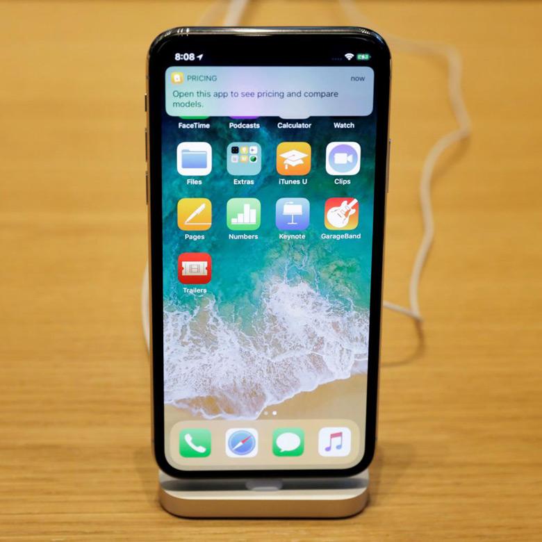Решение о будущих поставках панелей OLED для iPhone X еще не принято