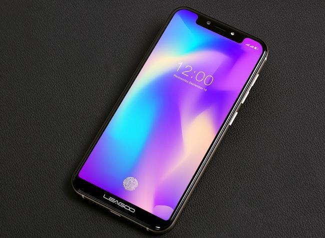 Смартфону Leagoo S9 приписывают дизайн в стиле iPhone X и сканер отпечатков пальцев под экраном