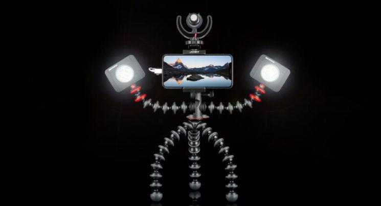 Штатив GorillaPod Mobile Rig ориентирован на тех, кто снимает видео смартфоном