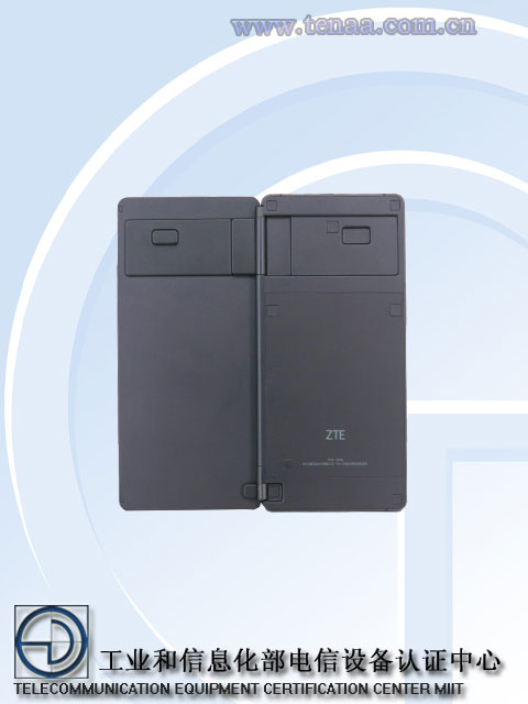 В базе данных TENAA замечен складной смартфон ZTE Z999 - 3