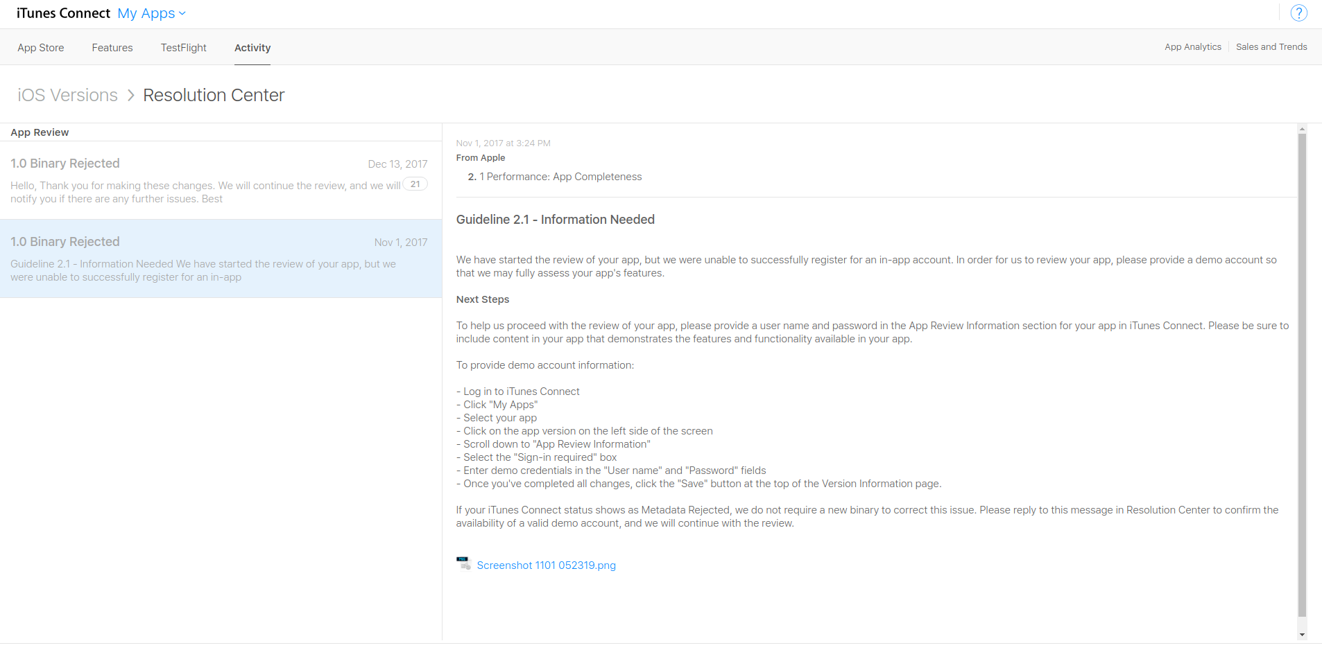 Запрос демонстрационной учетной записи, в нашем случае точнее будет сказать - демонстрационного сервера.