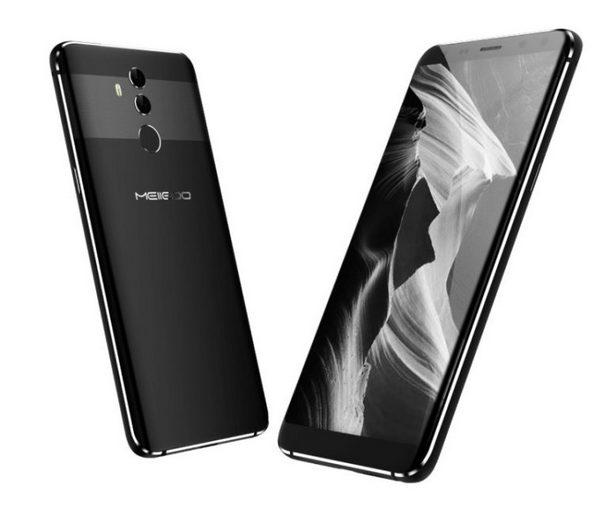 Смартфон Meiigoo Mate10 внешне напоминает Huawei Mate 10