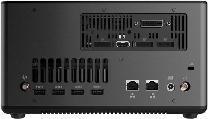 Наряду с мини-ПК в экспозицию MSI войдут внешние шасси расширения AMP Box и AMP Box Mini с интерфейсом Thunderbolt 3